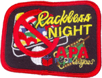 8-Ball  Rackless Night Patch