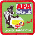9-Ball Shut-Out (Skunk) Patch
