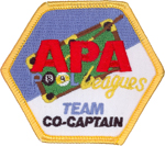 APA Team Co-Captain Patch