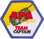 APA Team Captain Patch