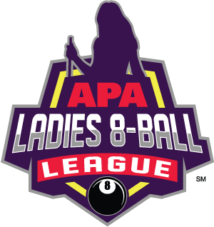 Ladies 8-Ball League Logo