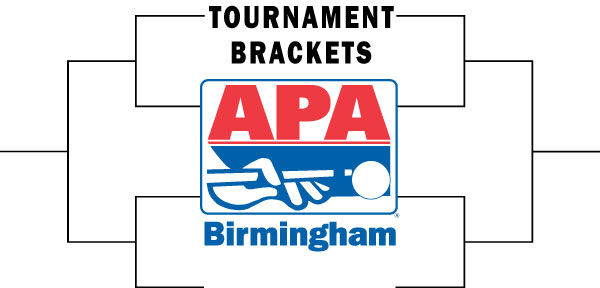 APA Tournament Bracket Headers